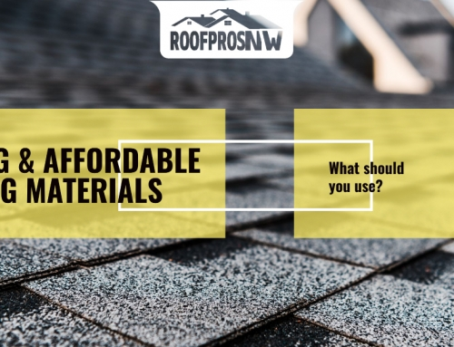 Bellevue and Redmond Roofing Company Suggests Lasting and Affordable Roofing Materials