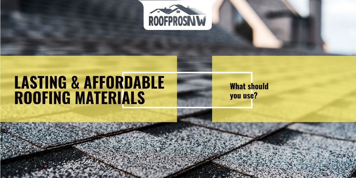 close-up of a roof supporting composite roofing shingles.